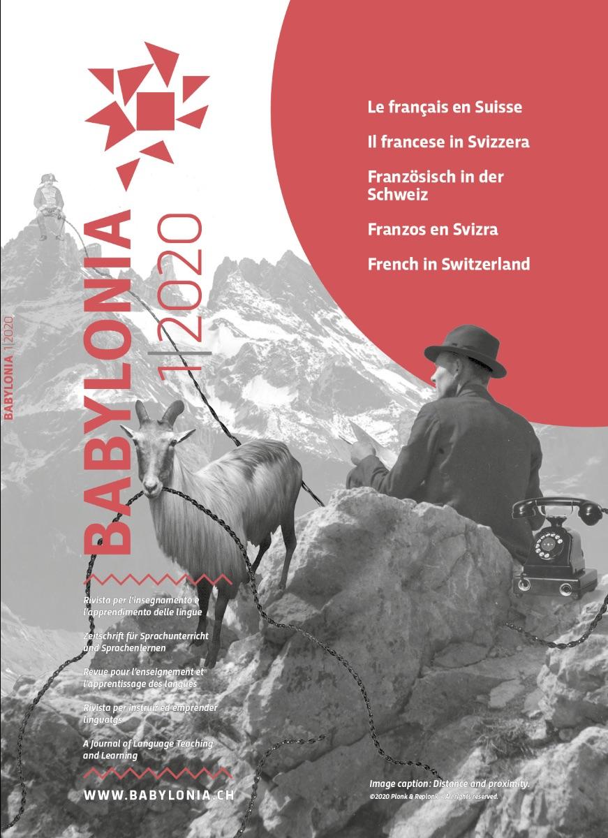 ''Le français en Suisse'': le nouveau numéro de Babylonia en libre accès