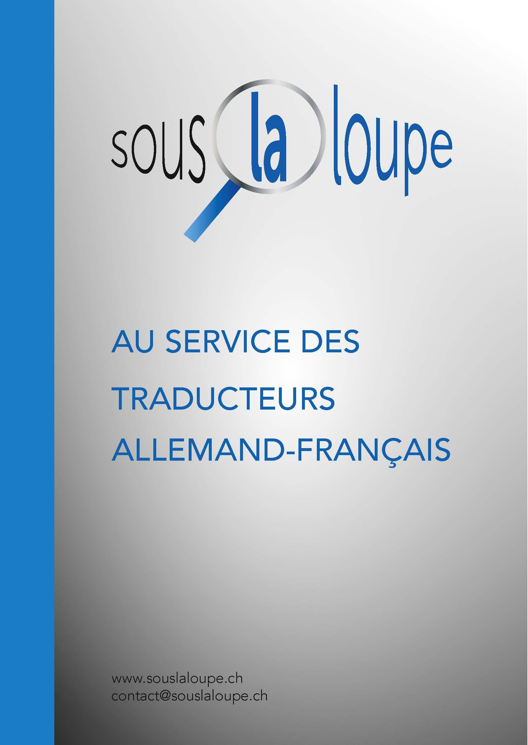 Au service des traducteurs allemand-français